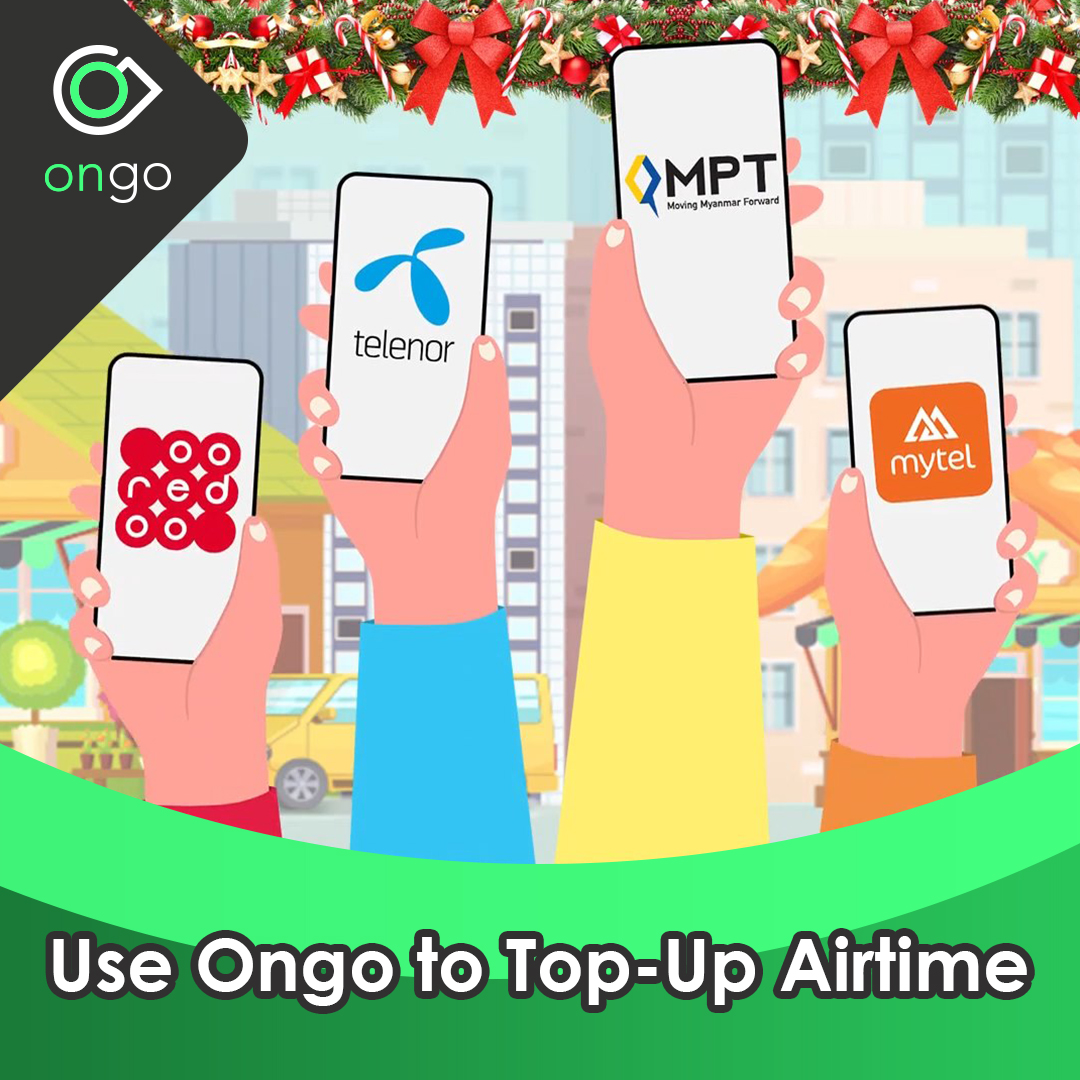 Use Ongo to Top-Up Airtime